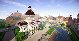 Provincial Town Hall Minecraft Map & Project