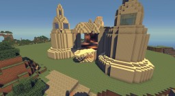 Marble Server Spawn Minecraft Project