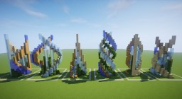 Futuristic Fountains Bundle (Download) Minecraft Map & Project