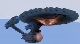 Mini USS Enterprise A - Refit ! (1:5) Scale ! Minecraft Project