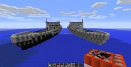 Battle warship Minecraft Project