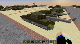 SU-100Y - Soviet Union Minecraft Map & Project