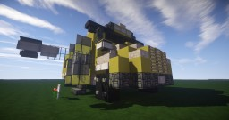 American Short School Bus Minecraft Map & Project