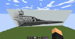 Mid-Scale Star destroyer Minecraft Project