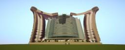 Big futuristic building Minecraft Project