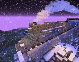 The Polar Express (Pere Marquette 1225) Minecraft Map & Project
