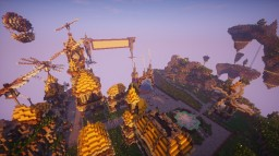 Hub SteamPunk Minecraft Project