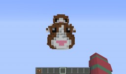 Burning Map for Pat (Popularmmos) and Jen (SuperGirlyGamer) Hamster Minecraft Project