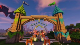 Fantasia Theme Park Minecraft