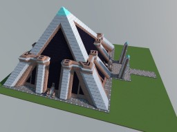 The Great Pyramid - Wonder of the Minecraft World Minecraft
