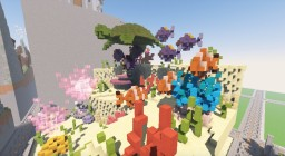 Underwater Themed Plot Minecraft Map & Project