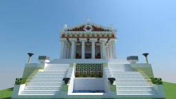 AC Origins Temple of Zeus Minecraft