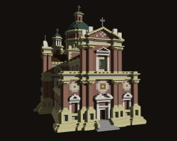 Baroque Church Minecraft Project