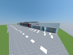 Citroën car dealership & garage Minecraft Project