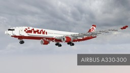 Airbus A330-300 Minecraft Project