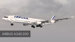 Airbus A340-300 Minecraft Project