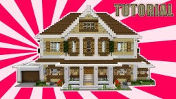 Suburban house tutorial Minecraft Project