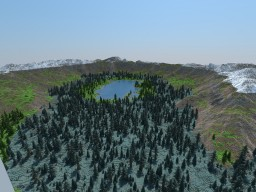 Esgaröth - Custom Terrain Mountains 2048x2048 Minecraft Map & Project