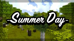 💛🌻☀️🏞 RANGERCRAFT  SUMMER DAY| - 1.12 - Minecraft Texture Pack