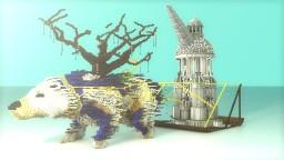 Fantasy Polar Bear Minecraft Project