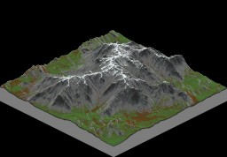 Mountain land Minecraft Project