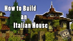 How to Build an Italian Medieval House Minecraft Project