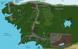 J.R.R Tolkien : The Lord of the Rings Minecraft Map & Project