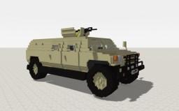 Armoured Truck (Desert) Minecraft Project