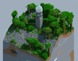 2048x2048 Survival World w/ Lighthouse Minecraft Map & Project