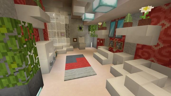 Minecraft my bathroom Minecraft Project on