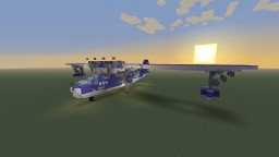 WWII U.S PBY-5A Catalina Flying boat Minecraft Project