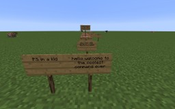 the best commands Minecraft Project