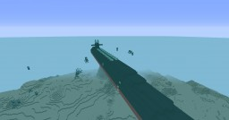 USS Ohio Nuclear submarine (SSGN-726) Minecraft Map & Project