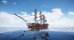 USS Constitution on FoxShot Minecraft Project