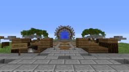 Medium Medieval Hub Minecraft Project
