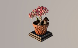 The pot of the cerenity. Minecraft Project