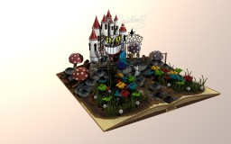 Alice and the castle of the red queen. Minecraft Project