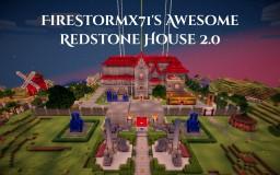 FireStormx71's Awesome Redstone House v2 Minecraft Project