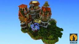Euda Isle | Skyblock Spawn Minecraft Project