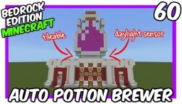 Daylight Sensor Fully Automatic Potion Brewer Tutorial Minecraft Map & Project