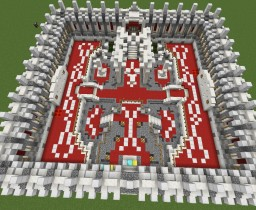 Snow Ball Fight Lobby Minecraft Project