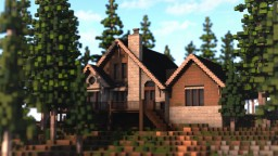 traditional house - cottage style Minecraft Project