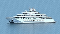 Superyacht - Topaz { 1:1 SCALE } Minecraft Map & Project