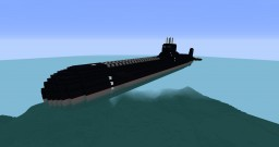Typhoon Class nuclear submarine (project 941, акула) Minecraft Map & Project