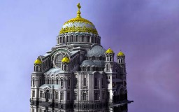 Nikolsky Naval Cathedral in Kronstadt Minecraft Map & Project