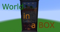 World in a BOX Minecraft Map & Project