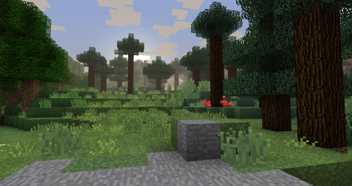 Sky and fog colormaps are from the resource pack Bdubs_1.12. The rest is mine