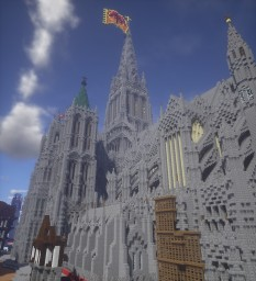 The Cathedral Church of St Peter and St Paul, Aland Minecraft Project