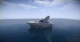 Small Modern Boat Minecraft Project
