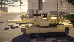 M1A2 Abrams Main Battle Tank Minecraft Map & Project